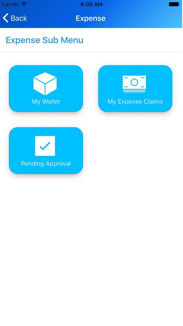 Mobile Expense Reporting Software App